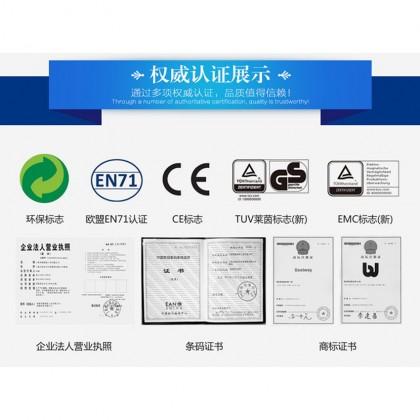 "Bestway 62003 Air Hammertm Inflation 3 Valve Pump 14"" 36cm Black Heavy-duty"