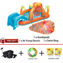Bestway 53069 Lava Lagoon Play Center Comfort Children Toys Water Playground New