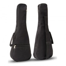 21'/23'/26' Ukulele Bag High Quality Cotton Padded Soft Shoulder Carry Case Straps Musical Instruments Black