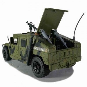 Armored Car Educational Toy Sound & Light 1:16 Military Series WY610A Wen Yi