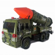 Missile Vehicle Educational Toy Sound & Light 1:16 Military Series WY650C Wen Yi