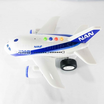 Airplane Educational Toy Sound & Light 1:160 Aviation Series WY720B Wen Yi