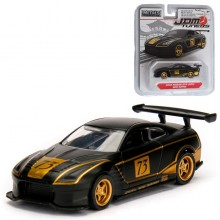 Jada 1:64 JDM Tuners Die-Cast 2009 Nissan GT-R (R35) Car Black Model Collection