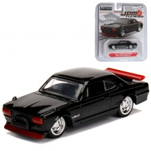 Jada 1:64 JDM Tuners Die-Cast 1971 Nissan Skyline 2000 GT-R Car Black Model Collection