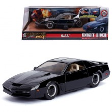 Jada 1:24 Die-Cast Hollywood Rides K.I.T.T. 1982 Pontiac Firebird (Knight Rider) Car Black Model Collection