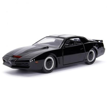 Jada 1:32 Die-Cast Hollywood Rides K.I.T.T. 1982 Pontiac Firebird (Knight Rider) Car Black Model Collection