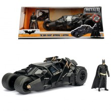 Jada 1:24 Die-Cast Tumbler Batmobile & Batman The Dark Knight Model Collection