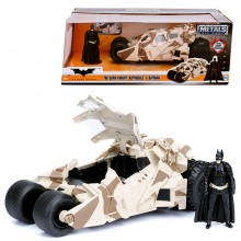 Jada 1:24 Die-Cast Tumbler Batmobile Camo Version & Batman The Dark Knight Model Collection