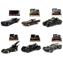 Jada 1:32 Die-Cast 6 in 1 Set Batmobile & Batman Model Collection