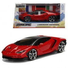 Jada 1:24 Hyper Spec Die-Cast Lamborghini Centenario Car Red Model Collection