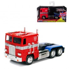 Jada 1:32 Die-Cast G1 Optimus Prime Autobot COE Semi-Truck Transformers Television Series Model Collection