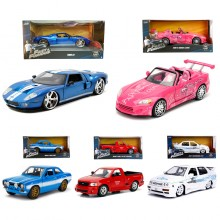 Jada 1:24 Fast & Furious Die-Cast 5 in 1 Set Car New Stock Model Collection