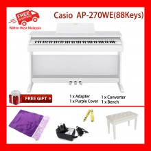 88 Key Casio AP-270 WE Celviano WE Electronic Musical Instruments Piano AiR Sound Source