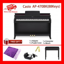 88 Key Casio Celviano AP-470 BK Electronic Musical Instruments Piano AiR Sound Source