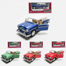 Kinsmart 1:40 Die-cast 1955 Chevy Nomad Car Model with Box Collection