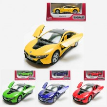 Kinsmart 1:36 Die-cast BMW i8 Car Model with Box Collection