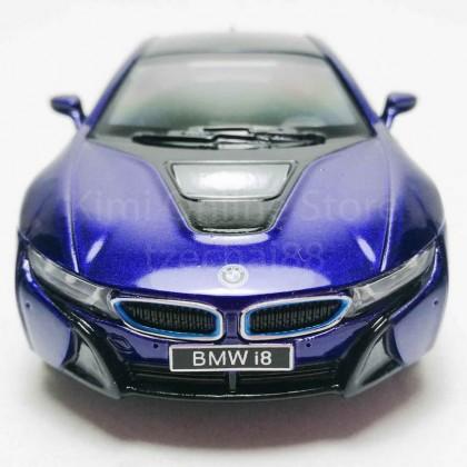 Kinsmart 1:36 Die-cast BMW i8 Car Model with Box Collection