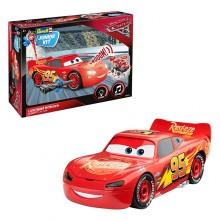 Revell Junior Kit Car 3 1:20 Lightning McQueen 00860 Light & Sound Plastic Model