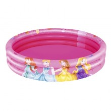 Bestway 91047 Disney Princess 3 Ring Ball Pit Play Pool Pink 1.22m x 25cm Safety Valves Kids New