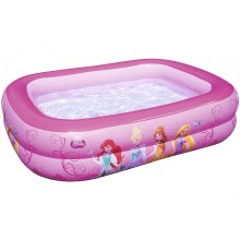 Bestway 91056 Disney Princess Inflatable Family Pool 2.01m x 1.5m x 51cm Pink Safety Valves Kids New