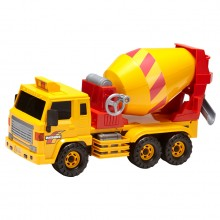 Daesung Super Concrete Mixer Truck Door Openable Made in Korea Friction Toys Model Genuine, Generic, Authentic DS-708