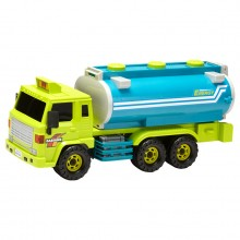 Daesung Super Oil Tanker Truck Door Openable Made in Korea Friction Toys Model Genuine, Generic, Authentic DS-918