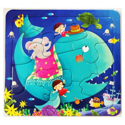 Baby Manual Brain Play Puzzle Games 2-3 Years Old Children Puzzle Early Education Educational Toys Intellectual Development