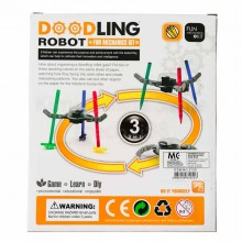 Cute Sunlight 3 in 1 Doodling Robot Fun Mechanics Kit DIY Evironmental Educational Enjoyable