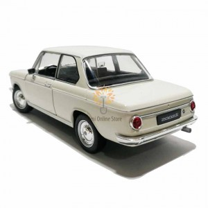 Welly 1:24 Die-cast BMW 2002ti Car Model White with Box Collection Christmas New Gift
