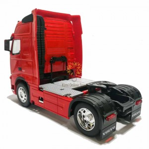 Welly 1:32 Die-cast Volvo FH12 4 x 2 Wheel Tractor Truck Model Red with Box Collection Christmas New Gift