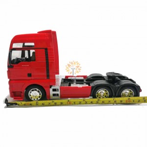 Welly 1:32 Die-cast MAN TGX 6 x 4 Wheel Tractor Truck Model Red with Box Collection Christmas New Gift