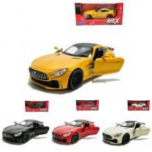 Welly 1:34-1:39 Die-cast Mercedes AMG GT-R Car Model with Box Collection Christmas New Gift