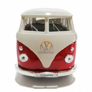 Welly 1:34-1:39 Die-cast 1963 Volkswagen T1 Bus Model with Box Collection Christmas New Gift