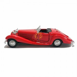 Welly 1:34-1:39 Die-cast 12 in 1 Old Time Automobile Vintage Car Model Collection Christmas New Gift
