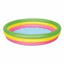 Bestway 51103 L 1.52m x H 30cm Inflatable Summer Set Pool Safety Valves Kids New