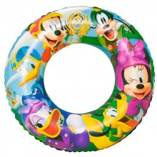 Bestway 91004 56cm Disney Mickey Mouse Clubhouse Inflatable Swim Ring