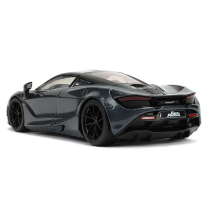 Jada 1:24 Fast & Furious Hobbs & Shaw Die-Cast Shaw's Mclaren 720S Grey Model Collection