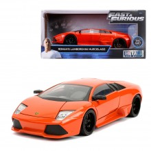 Jada 1:24 Fast & Furious Die-Cast Roman's Lamborghini Murcielago LP640 Orange Model Collection