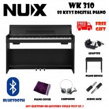 NUX WK-310 Black 88 Keys Digital Piano Electronic Keyboard Musical Instruments