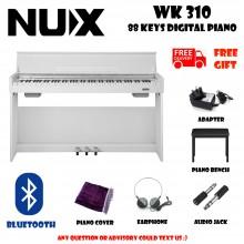 NUX WK-310 White 88 Keys Digital Piano Electronic Keyboard Musical Instruments