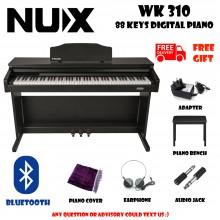 NUX WK-520 Black 88 Keys Digital Piano Electronic Keyboard Musical Instruments