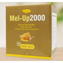 Mel-Up 2000 2000mg Premium Royal Jelly Juice Acerola Camu-camu Vitamin C Taurine Vitamin B-complex