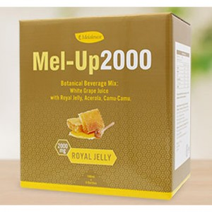 Mel-Up 2000 2000mg Premium Royal Jelly Juice Acerola Camu-camu Vitamin C Taurine Vitamin B-complex