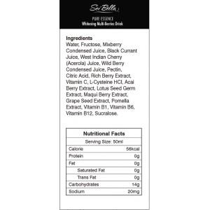 Pure Essence Whitening Multi Berries Drink Vitamin C and Multi-Vitamin B