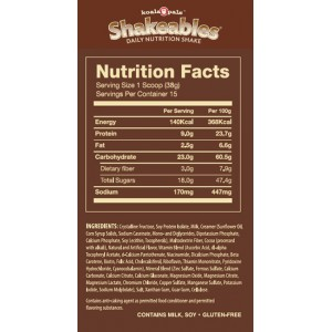 Koala Pals Shakeables Rich Milk Chocolate Protein Vitamins and Nutrients