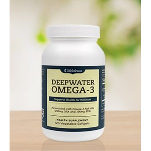 Deepwater Omega-3 (120 softgels) Health Benefits from Head to Toe