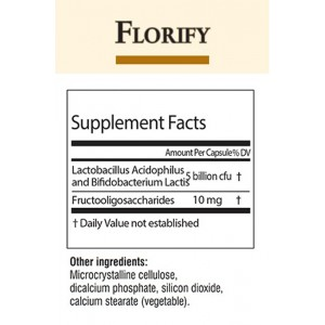 Florify Probiotic Capsules (30 capsules) The Natural Power of Florify