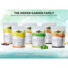 Hidden Garden Premium Tea ( 3g x 20 teabags ) Ceylon Grain Rooibos Lavender Barley Shizuoka Green Alishan Oolong