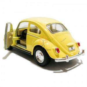 Kinsmart 1:32 Die-cast 1967 Volkswagen Classical Beetle (Pastel Color) Car Model with Box Collection Toy