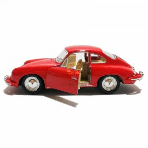 Kinsmart 1:32 Die-cast Porsche 356 B Carrera 2 Car Model with Box Collection Toy